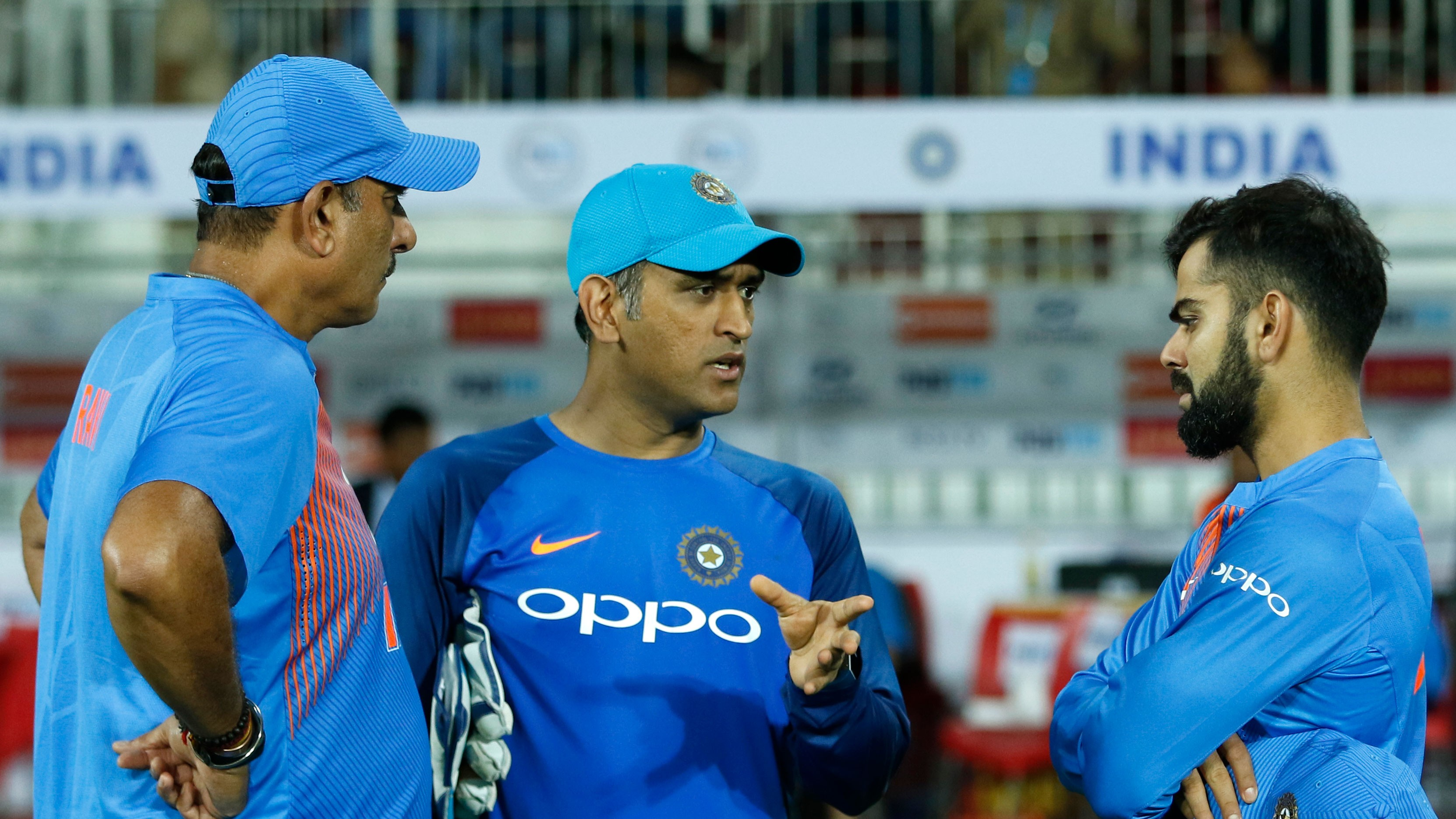 CWC 2019: Ravi Shastri talks how dressing room can learn from MS Dhoni and his equation with Virat Kohli