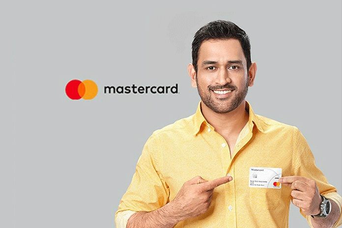 MS Dhoni ties up with Mastercard to promote cashless transactions in India
