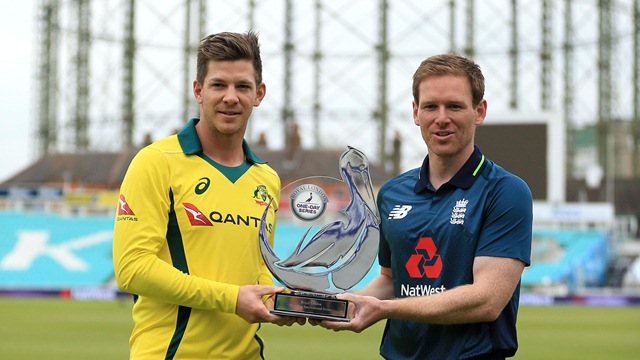 ENG v AUS 2018: Eoin Morgan agrees to Tim Paine's pre-series handshake gesture