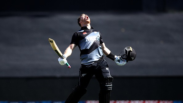 NZ v WI 2020: Glenn Phillips blasts record ton as New Zealand take unassailable lead in T20I series