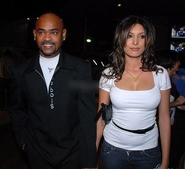 Vinod Kambli and his wife Andrea Hewitt