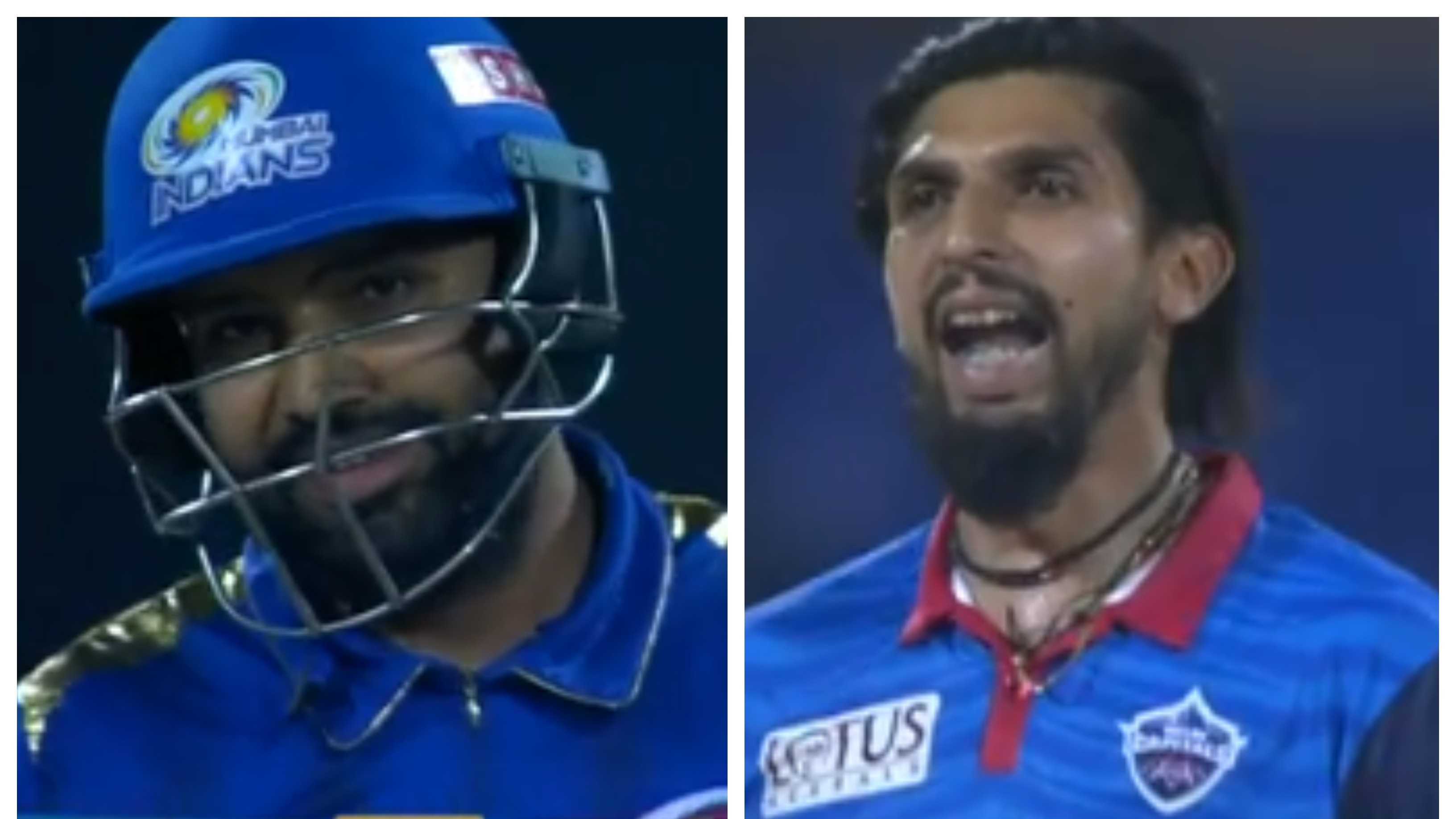 IPL 2019: WATCH – Ishant Sharma teases Rohit Sharma during Delhi Capitals' clash with Mumbai Indians