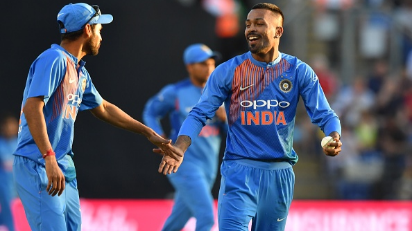 ENG v IND 2018: I was normal after getting hit for 22 in the first over, says Hardik Pandya