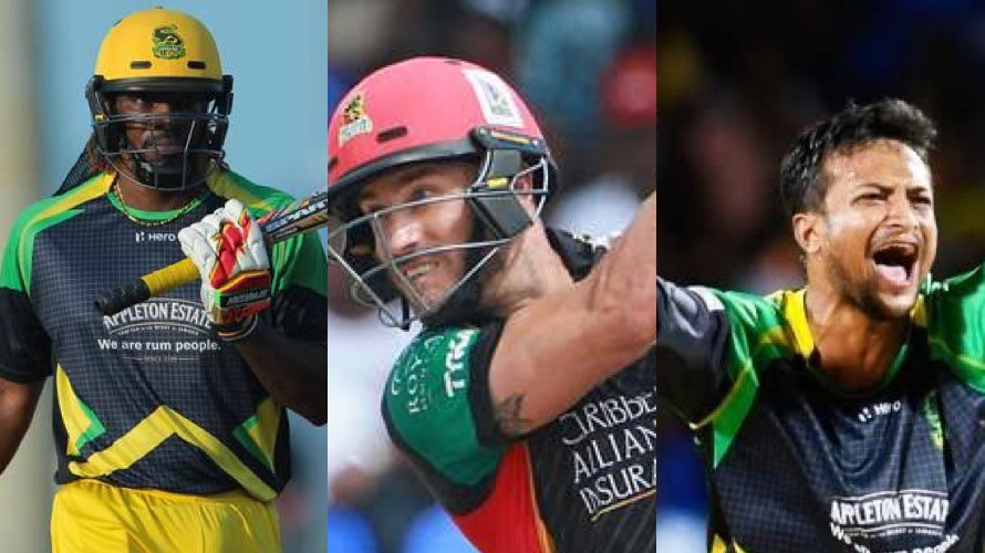 CPL 2021: Chris Gayle, Faf du Plessis and Shakib Al Hasan to feature in 9th season of CPL