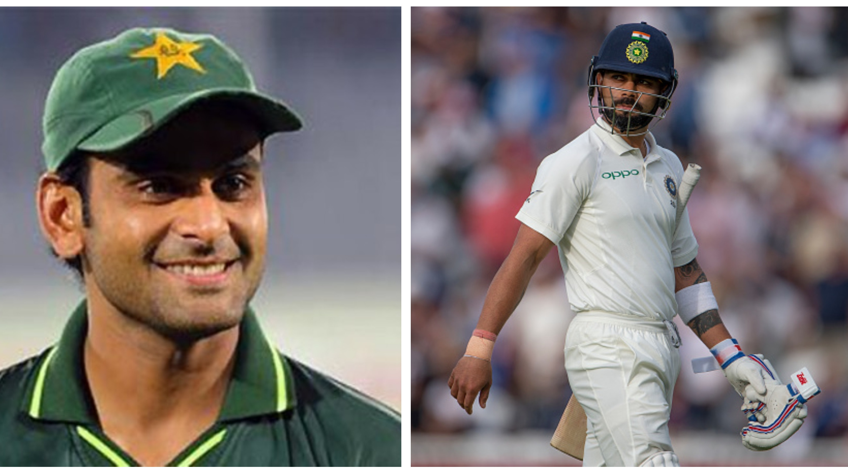 Kohli is head and shoulders above the rest, says Mohammad Hafeez