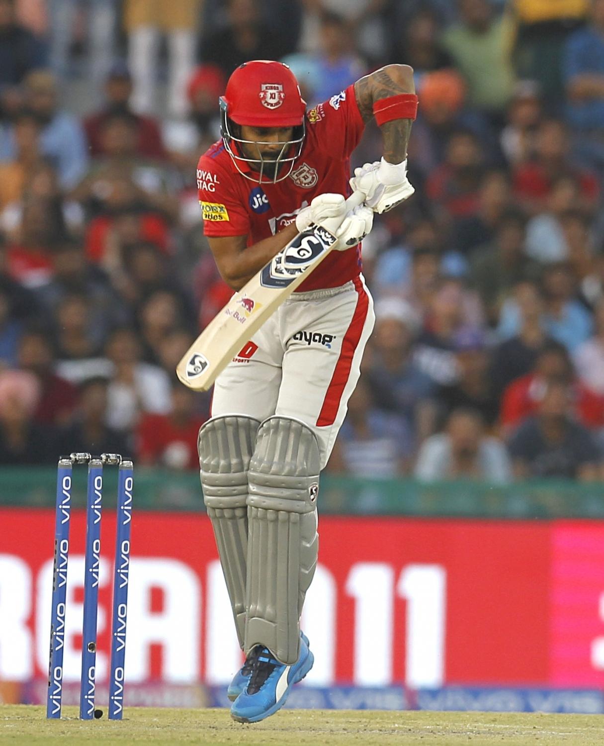KL Rahul scored 71 not out off 57 balls to help KXIP chase down the target | IANS