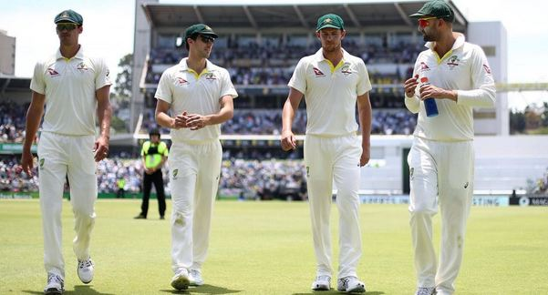 Starc, Cummins, Hazlewood and Lyon picked two wickets apiece | Getty