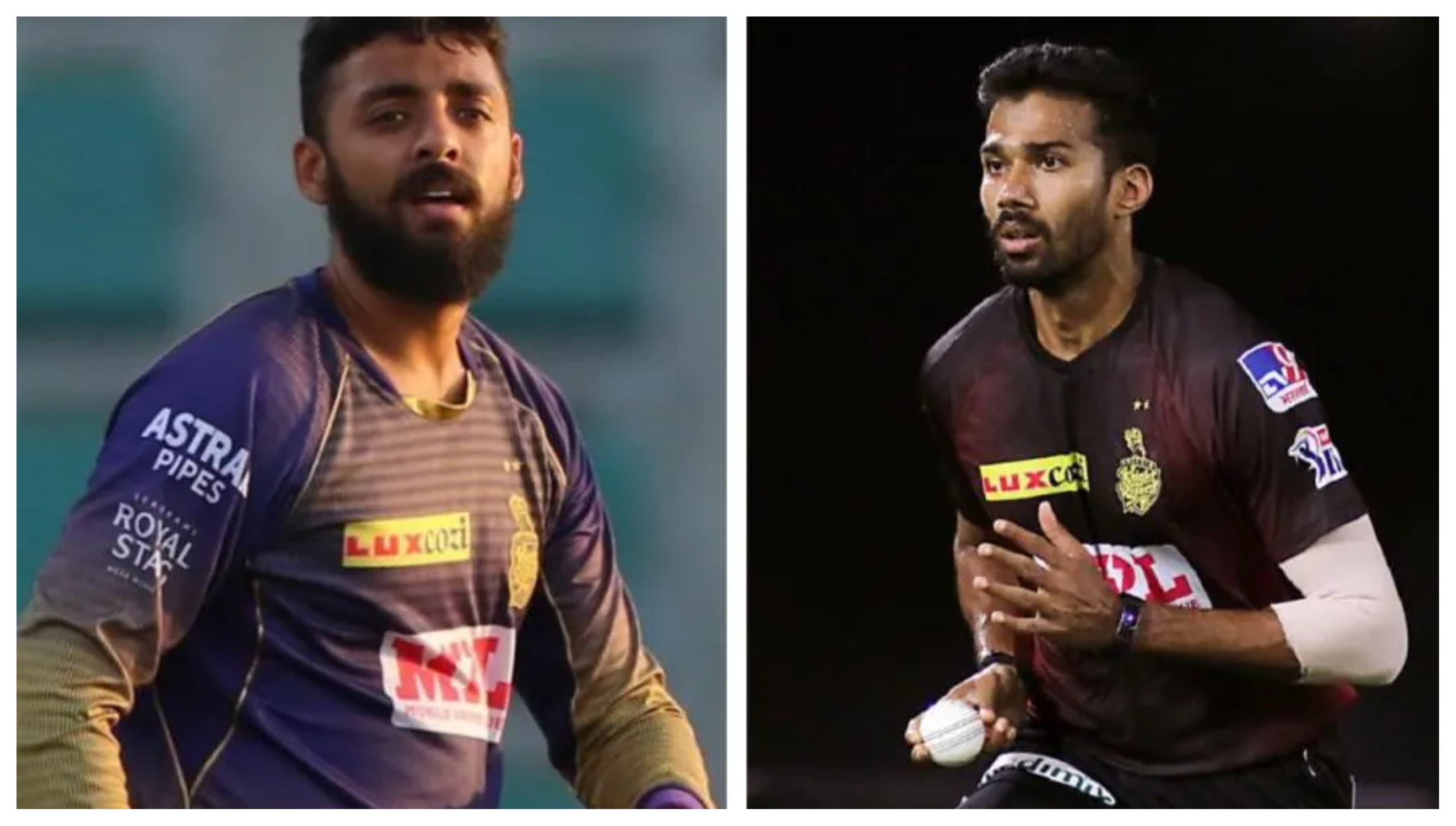 KKR duo of Varun Chakravarthy and Sandeep Warrier were tested COVID-19 positive | IPL/KKR
