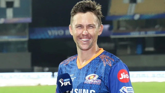 IPL 2021: WATCH- Trent Boult hopes MI continues from where they left in UAE last year