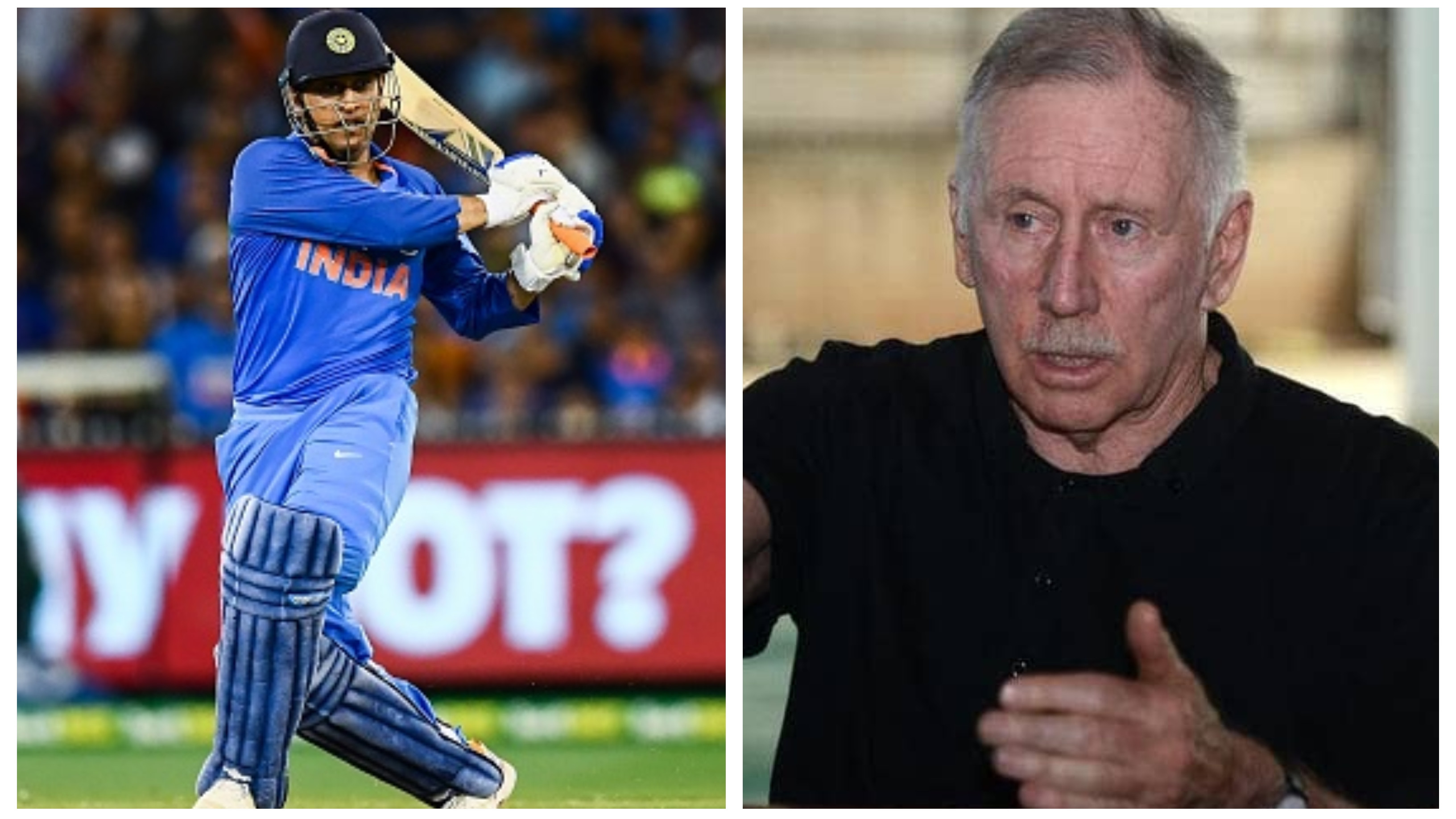 AUS v IND 2018-19: Ian Chappell rates MS Dhoni as world's best ODI finisher