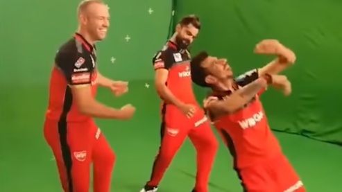 IPL 2019: WATCH – Kohli, De Villiers and Chahal rock the dance floor during an ad shoot