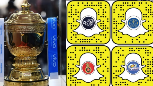 IPL 2018: Snapchat joins hand with IPL teams, launches new filters