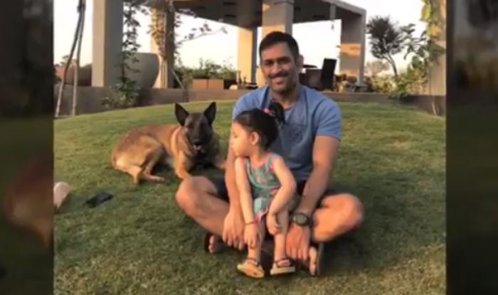 MS Dhoni and Ziva | Instagram