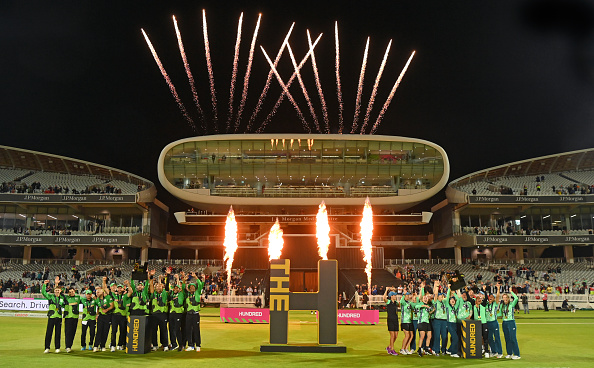 The Southern Braves and the Oval Invincibles won The Hundred   Getty Images