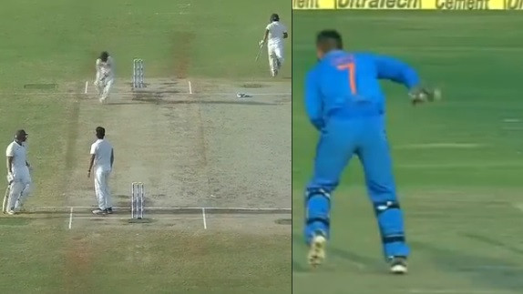 WATCH: Ishan Kishan pulls off an 'MS Dhoni' run-out during Duleep Trophy final