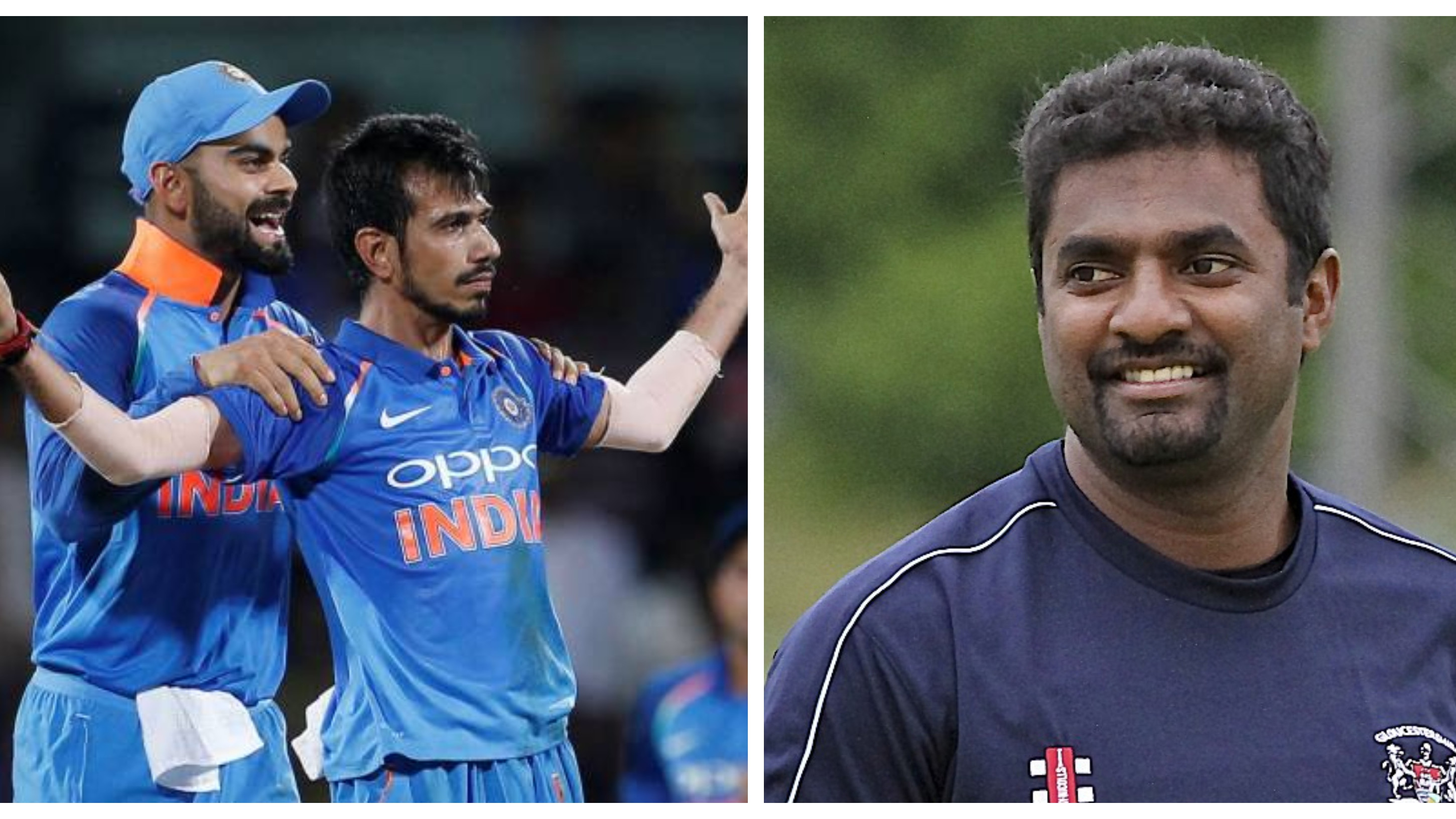 IND v AUS 2019: Muralitharan comes out in support of Yuzvendra Chahal after failure in Mohali ODI