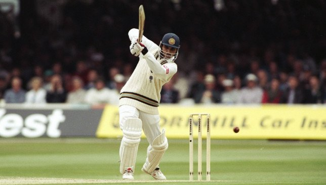 Sourav Ganguly on his Test debut at Lord's 1996   GETTY