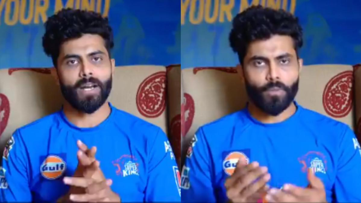 "IPL 2021: WATCH - ""Please stay home and stay safe,"