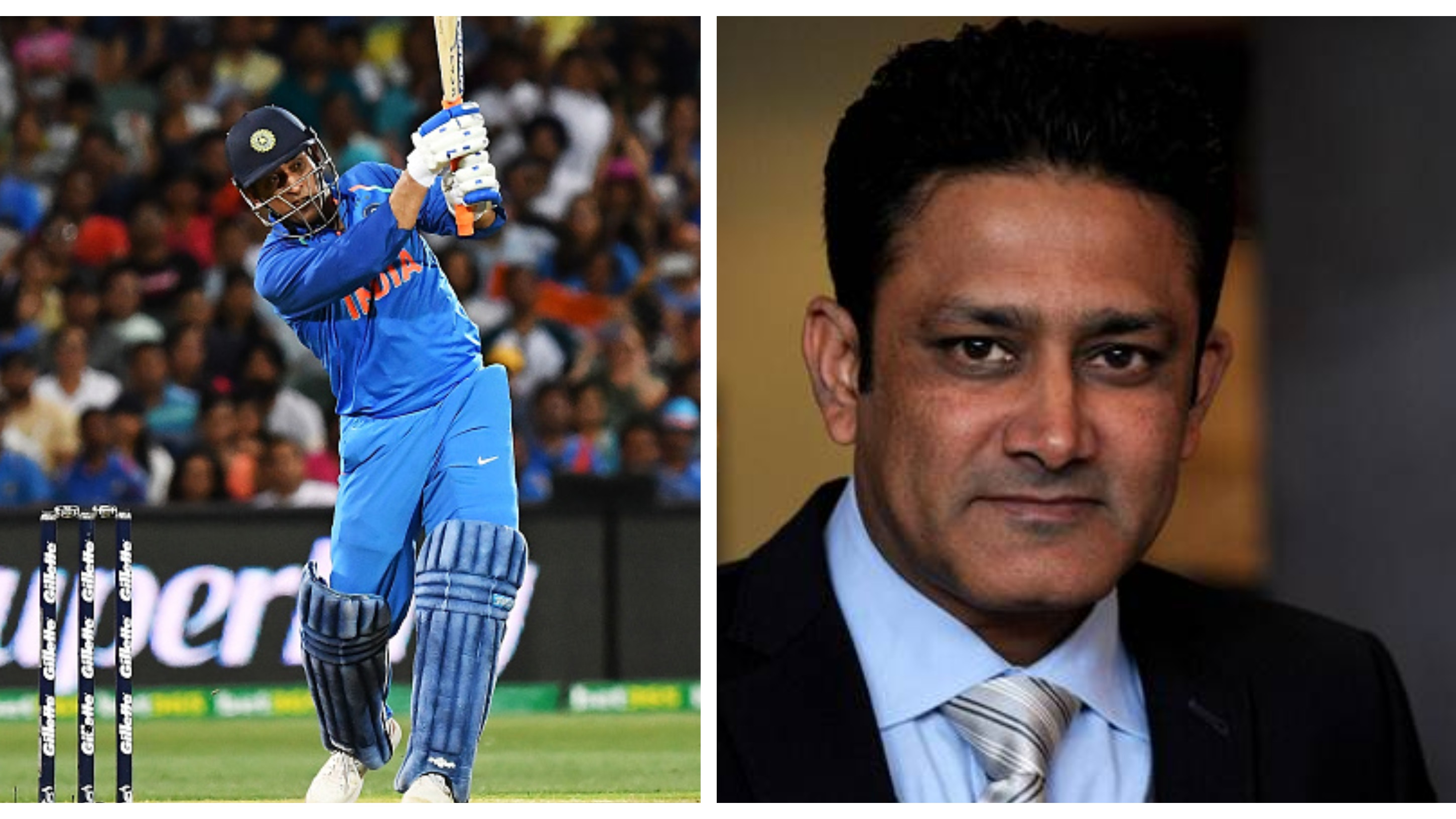 Anil Kumble picks MS Dhoni's ideal batting slot for the World Cup