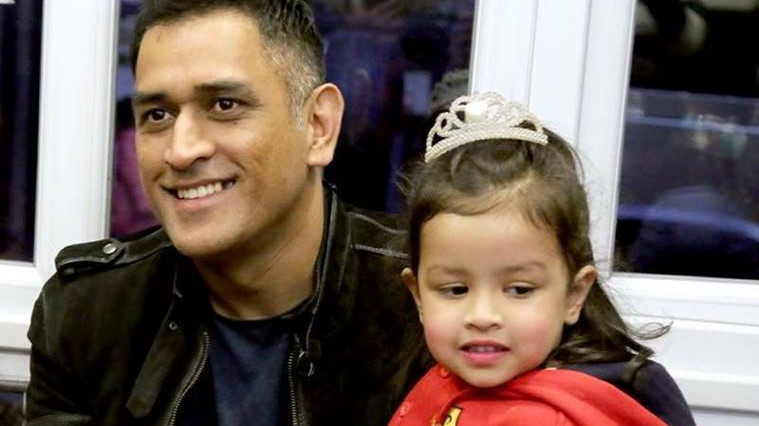 WATCH: MS Dhoni's adorable moment with daughter Ziva will melt your heart