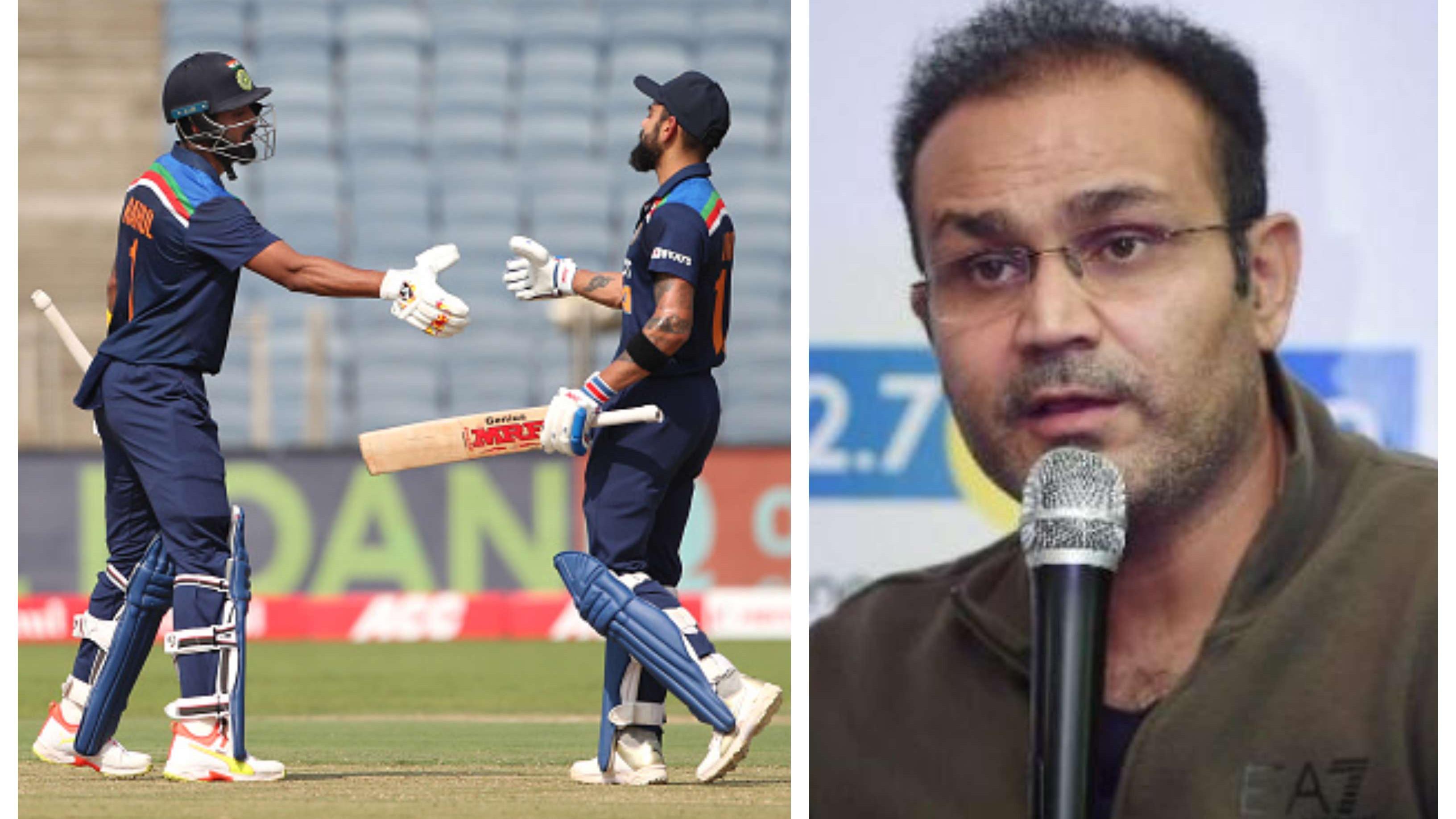 IND v ENG 2021: Virender Sehwag credits Virat Kohli for making KL Rahul an exceptional batsman