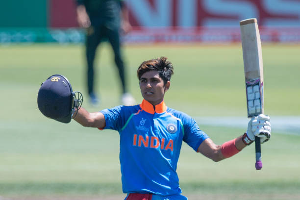 The 19-year-old Shubman Gill has also been named in Punjab's Rani Trophy squad | Getty