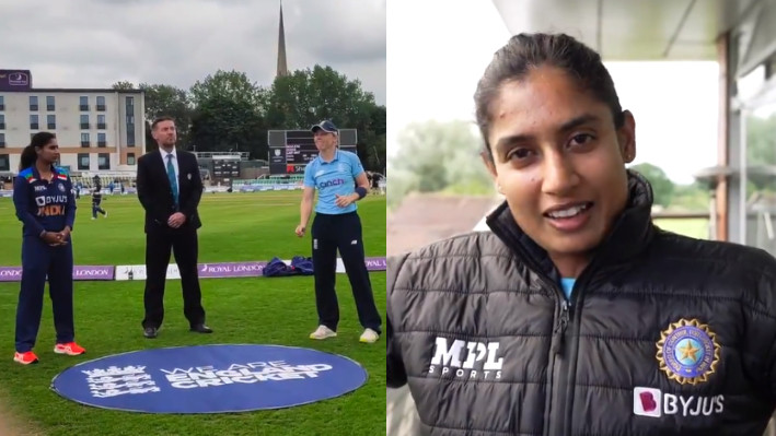 ENGW v INDW 2021: WATCH - Mithali Raj talks about her toss preparation after breaking the losing streak