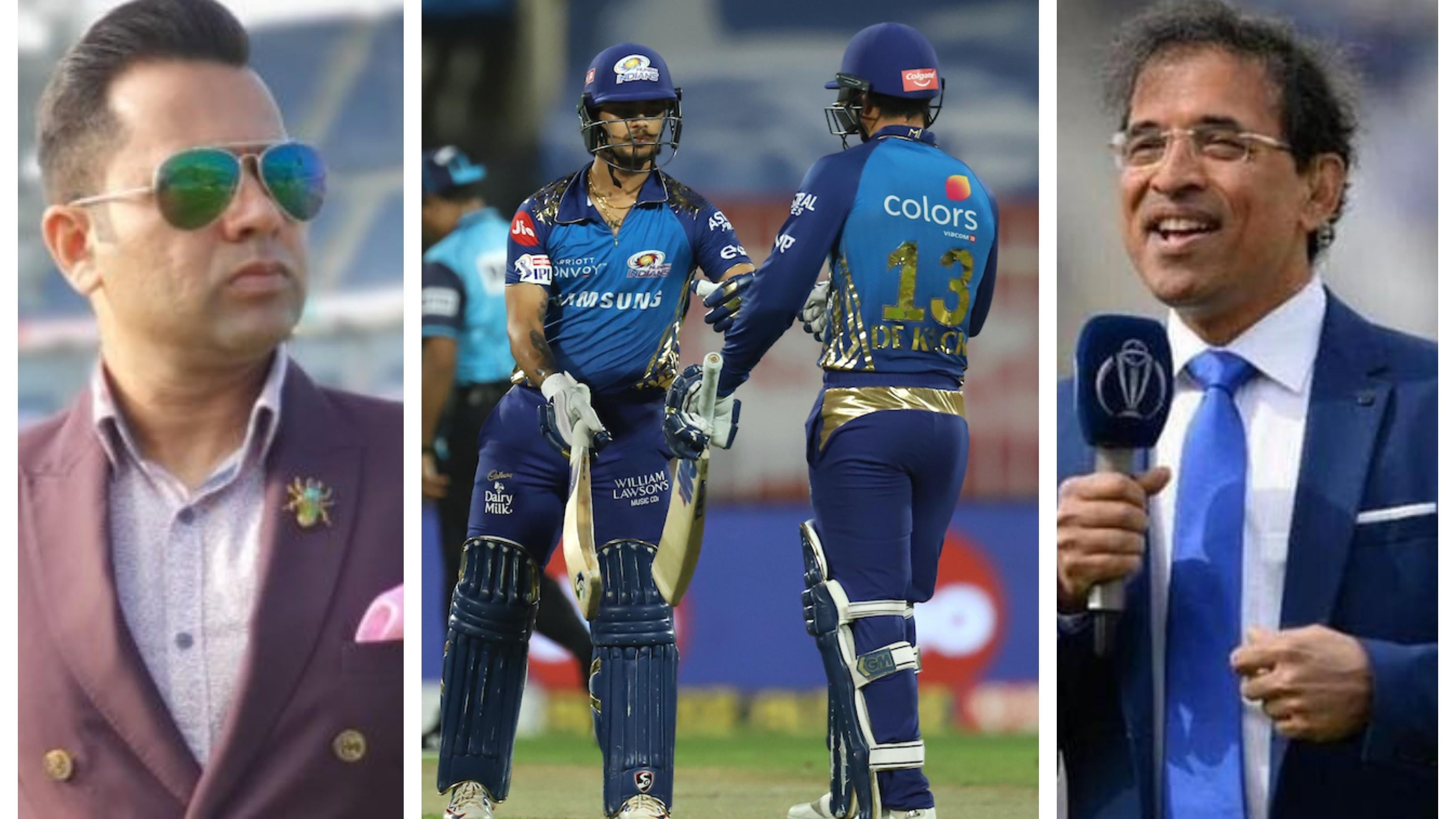 IPL 2020: Cricket fraternity reacts as Ishan Kishan slams 37-ball 68* to script MI's 10-wicket win over CSK