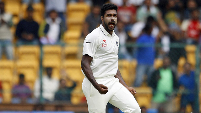 Varun Aaron takes to County stint for India comeback