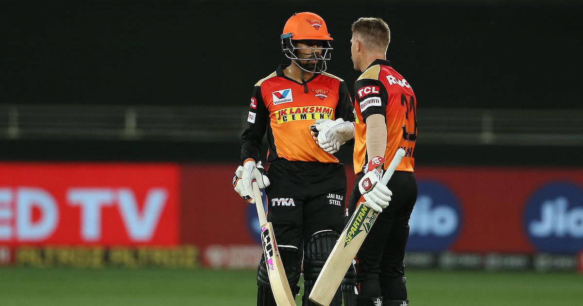 David Warner and Wriddhiman Saha | IPL/BCCI