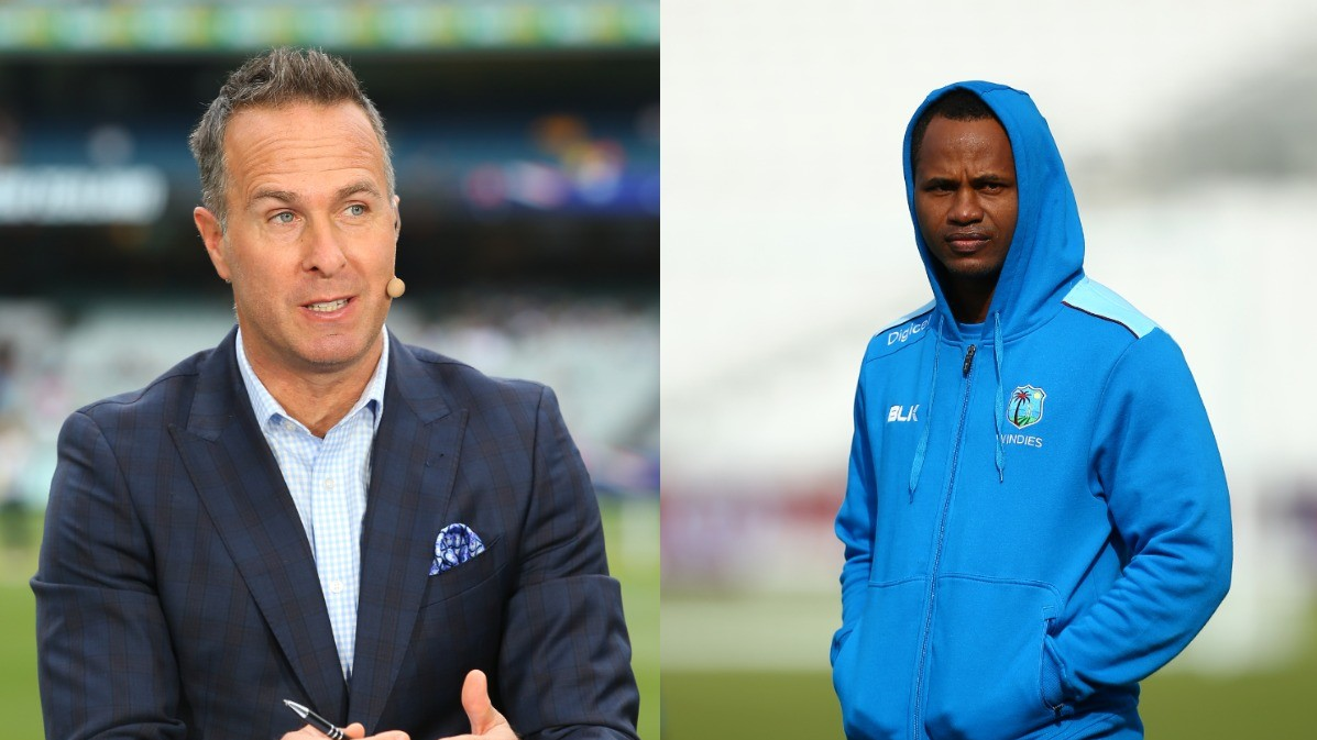 Marlon Samuels hits out at Michael Vaughan as latter supports Ben Stokes over quarantine banter
