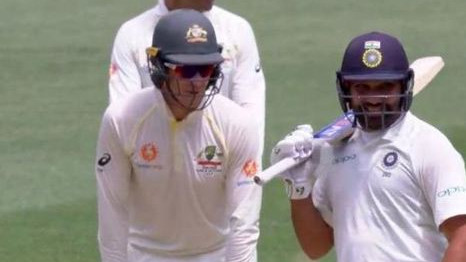 AUS v IND 2018-19: Mumbai Indians asks Tim Paine to 'shut up' as he irritates Rohit Sharma