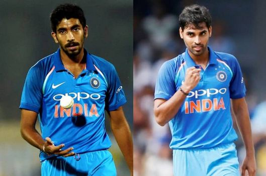 Bhuvneshwar Kumar and Jasprit Bumrah are perhaps the best ODI bowlers in the world today | Getty