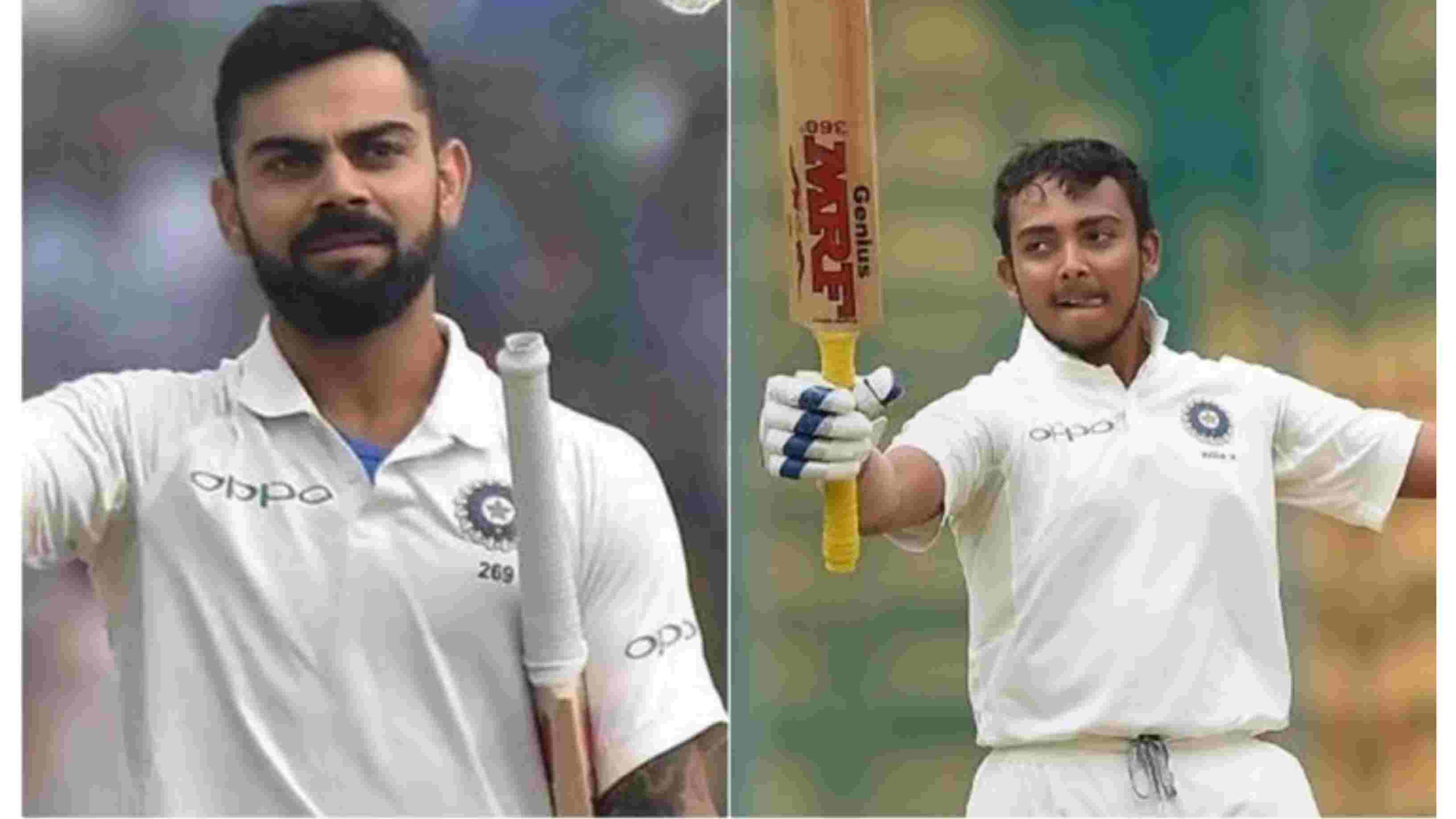 "IND v WI 2018: Virat Kohli demands ""some space"" for Prithvi Shaw"
