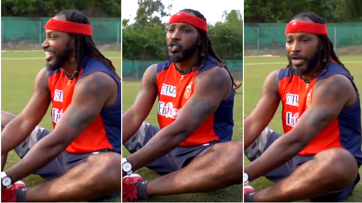 IPL 2021: WATCH - 'Mogambo' Chris Gayle surprises fans with movie Mr. India's dialogue