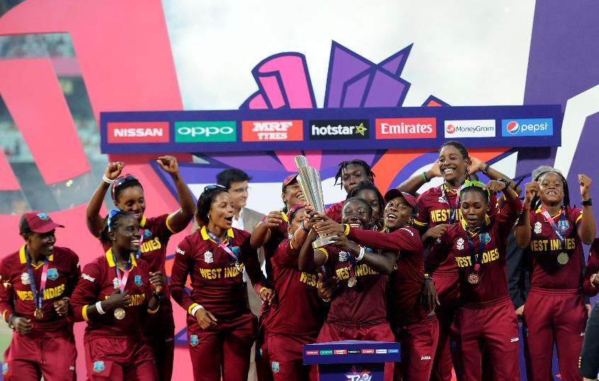 West Indies women's team are the defending champions of the World T20 tournament
