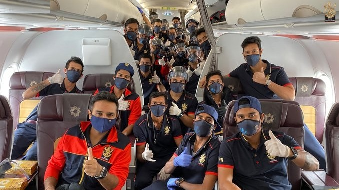 IPL 2020: RCB begins its sojourn to UAE for IPL 13; players share pics