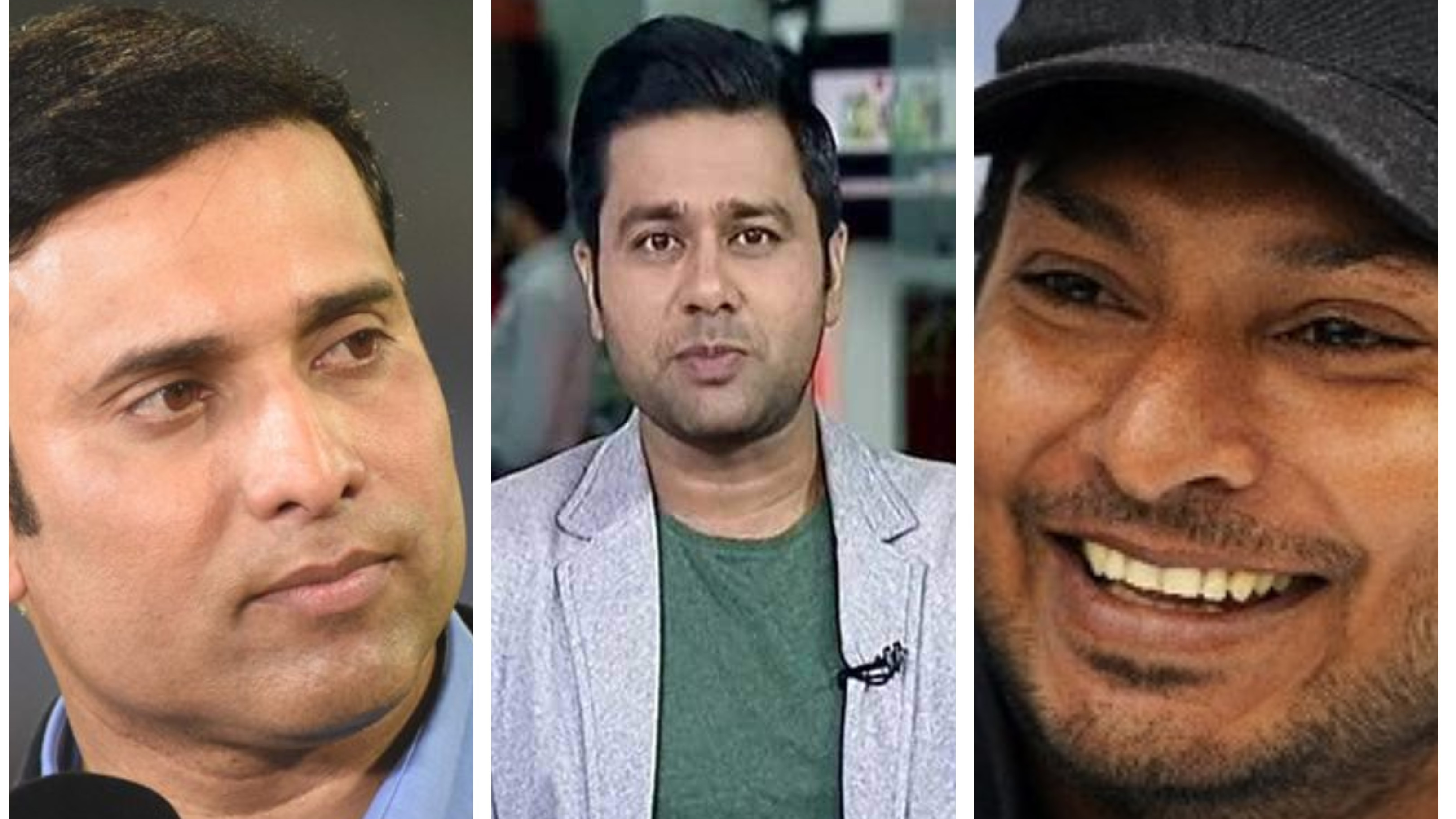 VVS Laxman interacts with Aakash Chopra and Kumar Sangakkara in a funny Twitter conversation