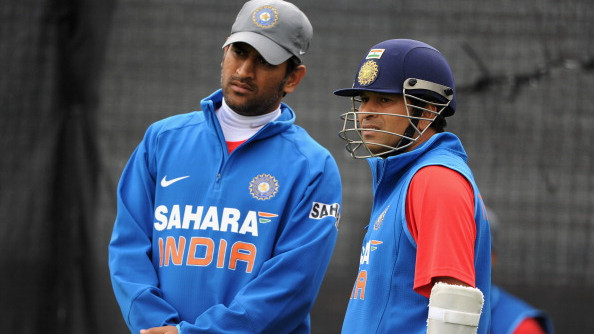 WATCH: Sachin Tendulkar reacts on selectors' decision to snub MS Dhoni from India's T20I squad