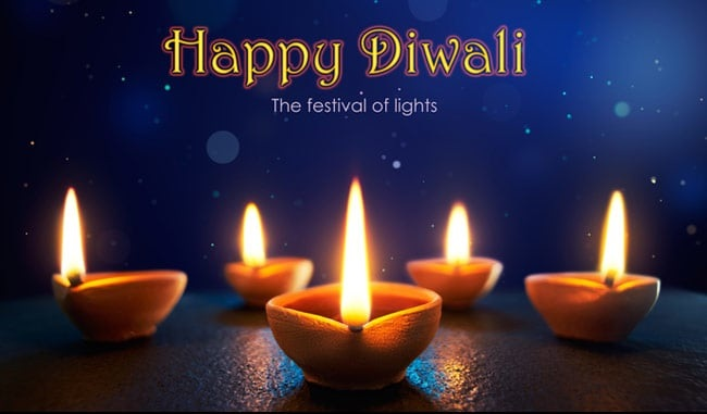 Hindus all over the whole world are celebrating the holy festival of Diwali