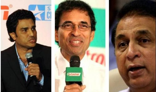 Manjrekar and Bhogle miss out from Asia Cup list; though Gavaskar has been included