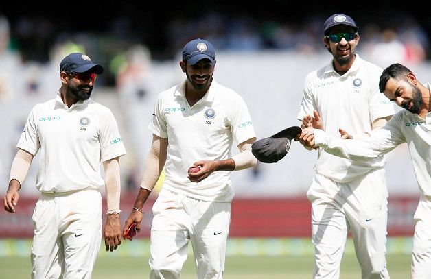 Virat Kohli doffs hat to the pace trio of Shami, Bumrah and Ishant | Getty
