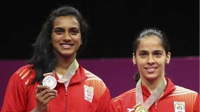 Twitter sees Cricket fraternity lauding Saina Nehwal and PV Sindhu on their respective CWG gold and silver wins