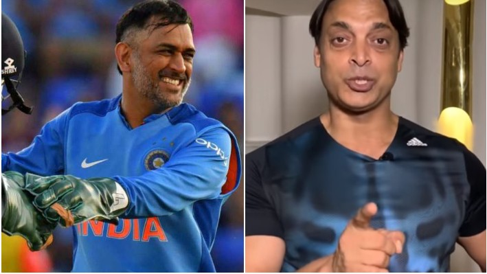Shoaib Akhtar calls MS Dhoni the 'name of an era' in cricket