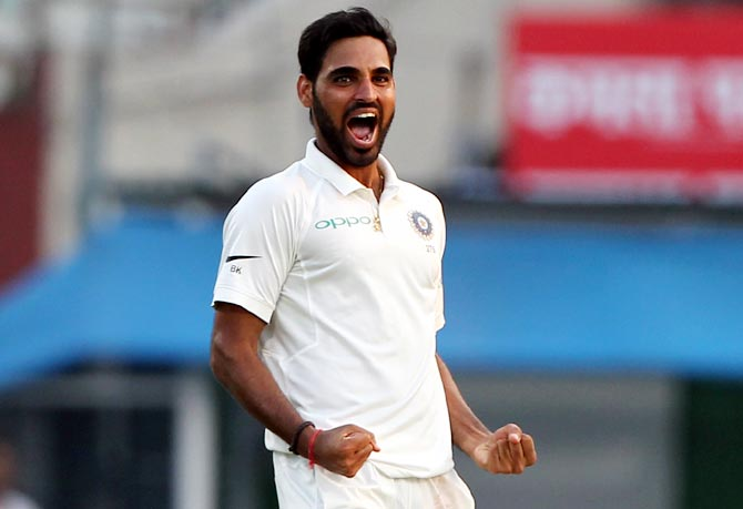 Bhuvneshwar Kumar was born on Feb 5, 1990 in Meerut, Uttar Pradesh | Getty