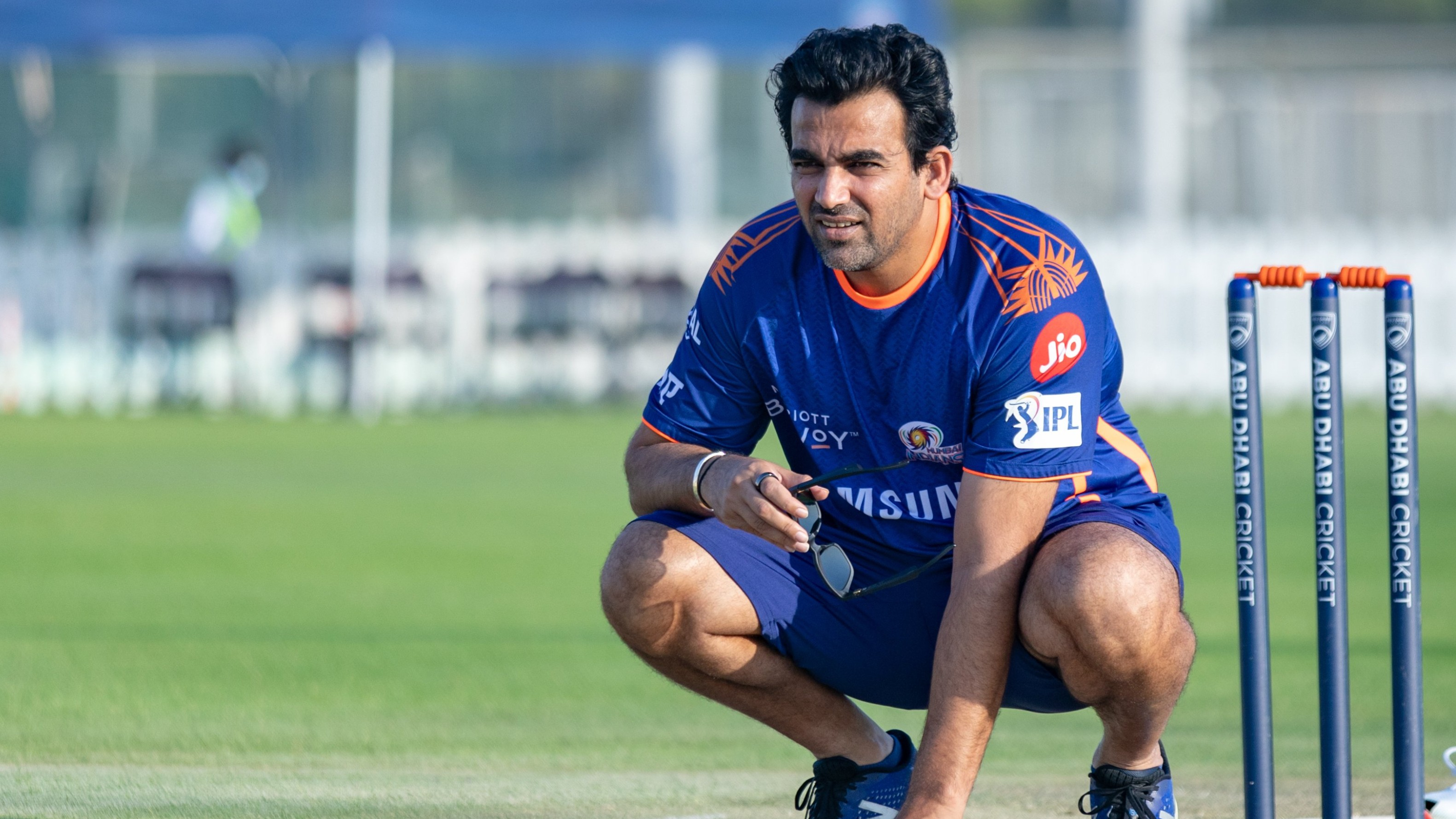 IPL 2020: WATCH - MI's Zaheer Khan opines that players need to get used to saliva ban