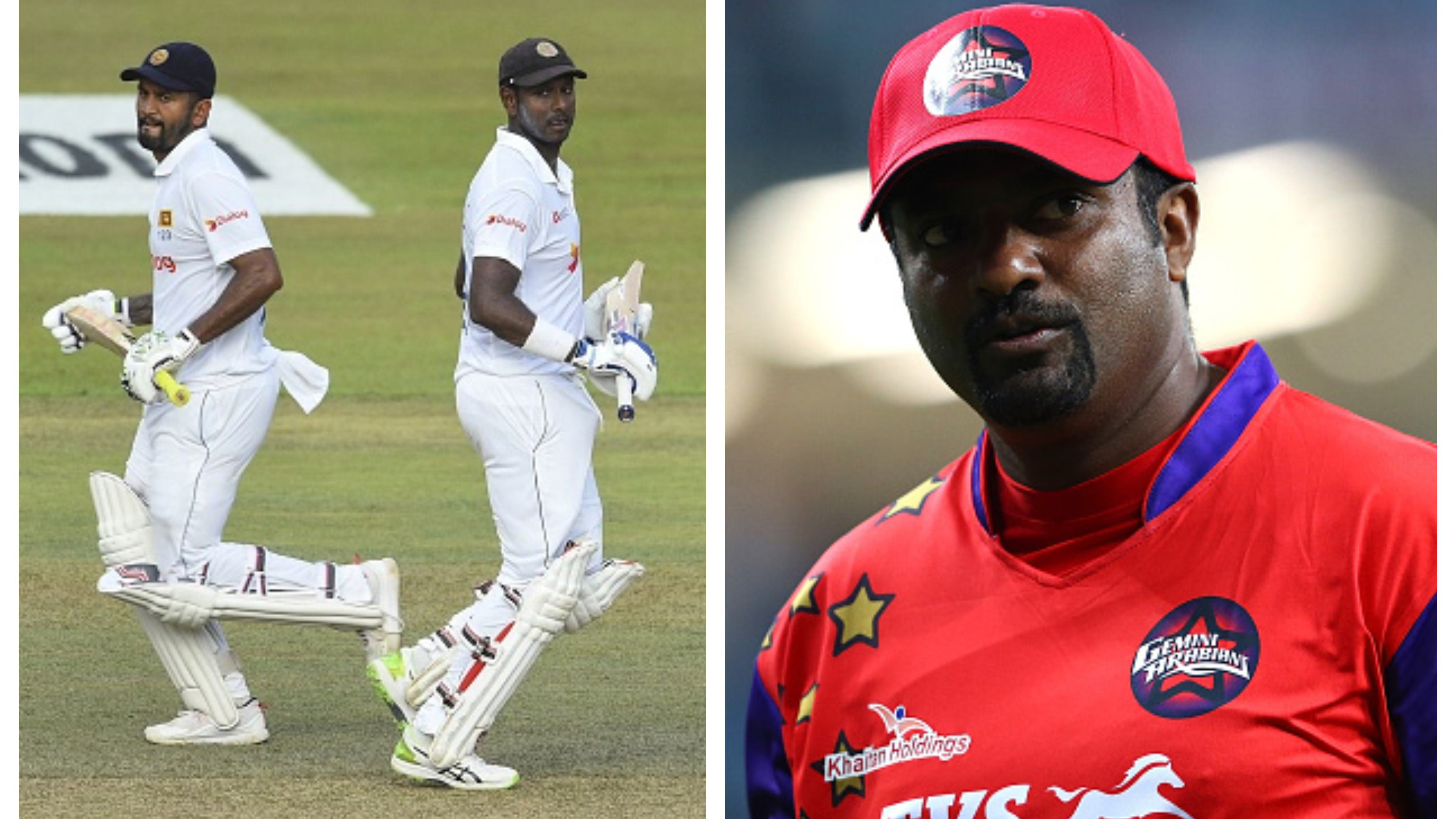 Mathews, Karunaratne write a letter to Muralitharan after spin legend held the duo responsible for contract tussle