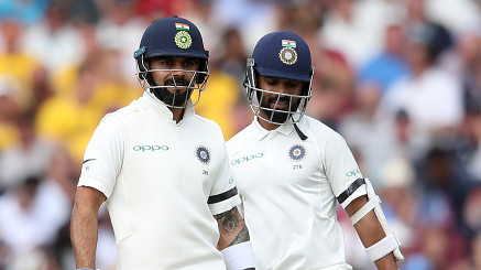 ENG v IND 2018: 3rd Test, Day 1 – Virat Kohli 97 and Ajinkya Rahane 81 puts India ahead with 307/6