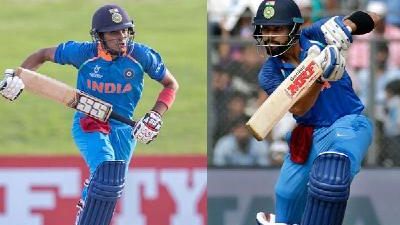Shubman Gill deems Virat Kohli as his idol