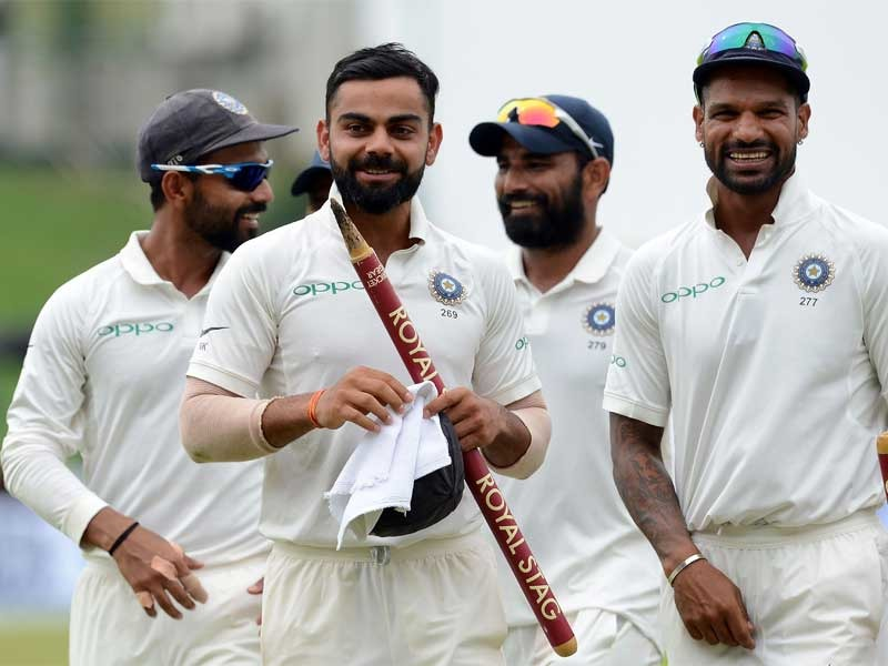 Team India have won 7 out of their last 8 Test series | Getty